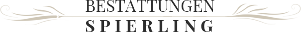 Bestattungsinstitut Reiner Spierling - Logo